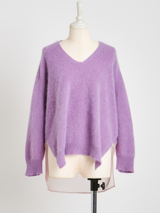 Back Tulle Raccoon Top