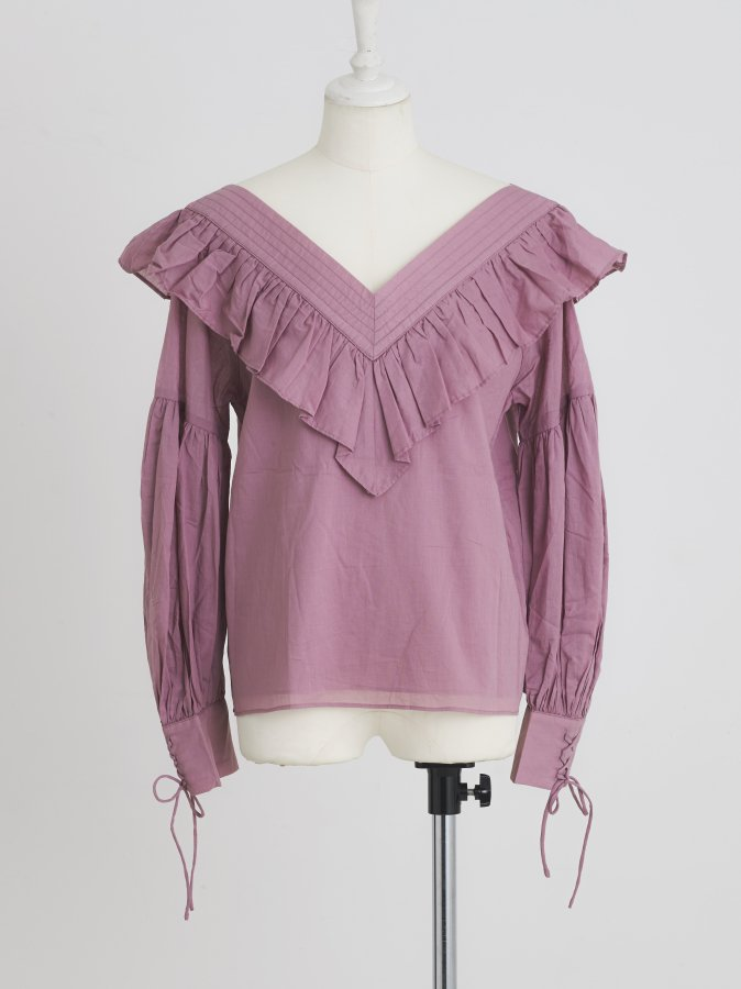 Volumey Sleeve Blouse