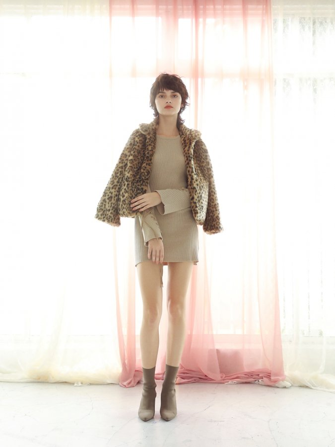 Leopard Fur Short Coat
