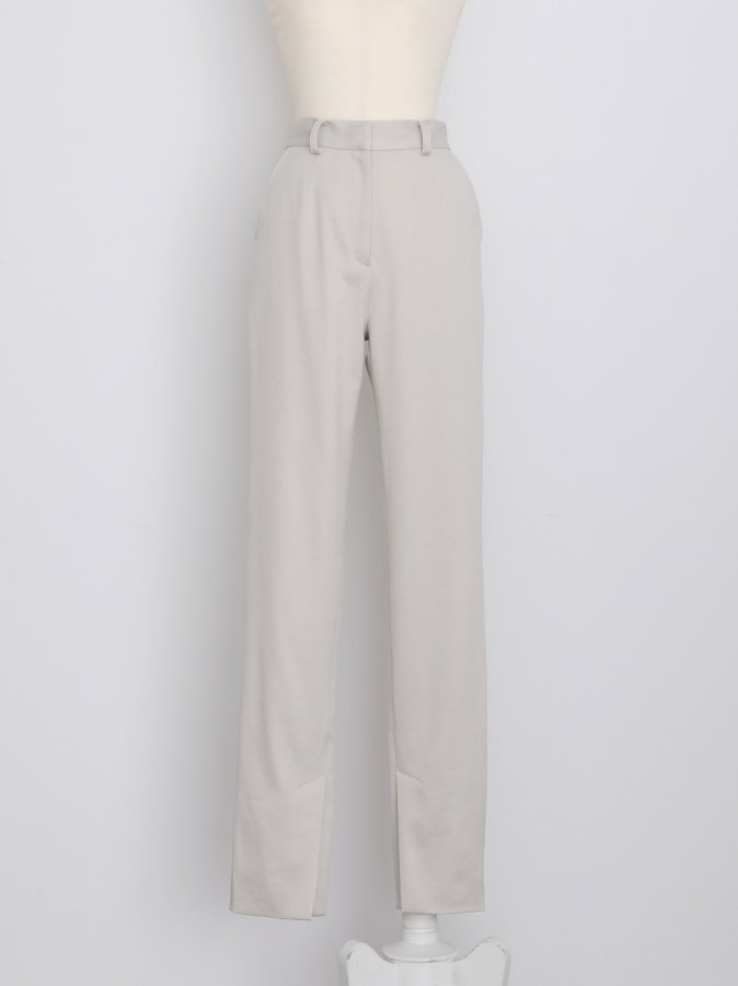 Center Vent Satin Pants