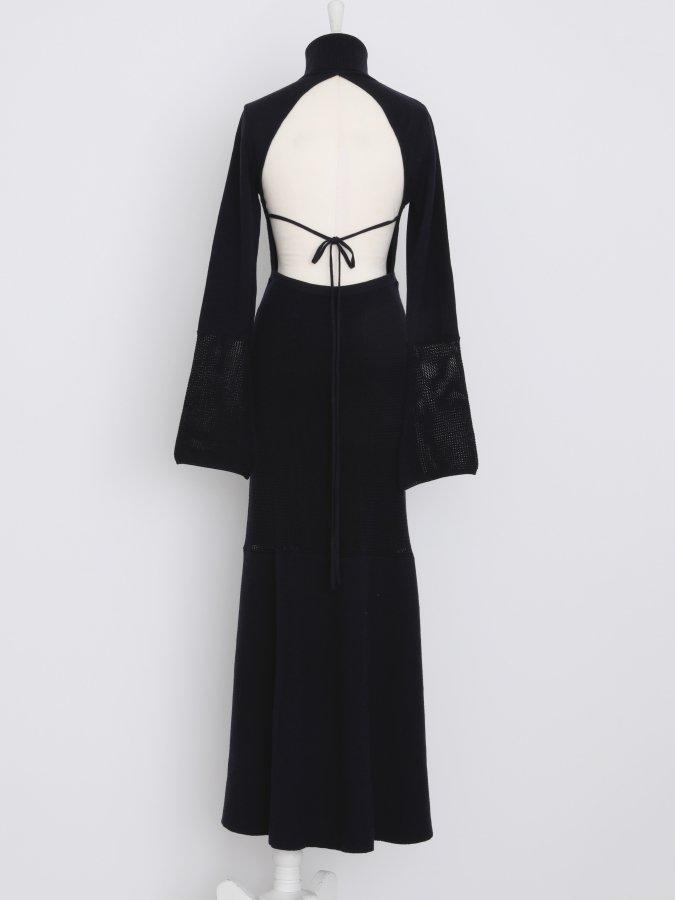 【11.15 New in】Back Open Knit Dress