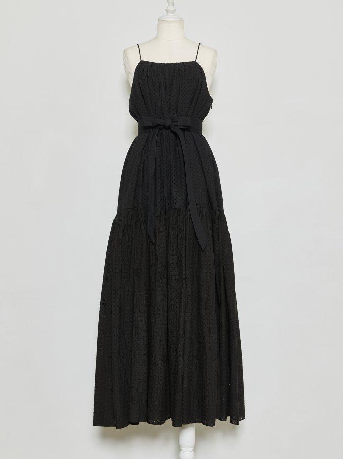 【Pre order】Eyelet Lace Cami Dress