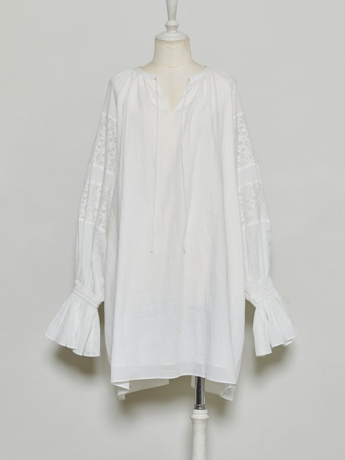 Cotton Bi-lace Tunic