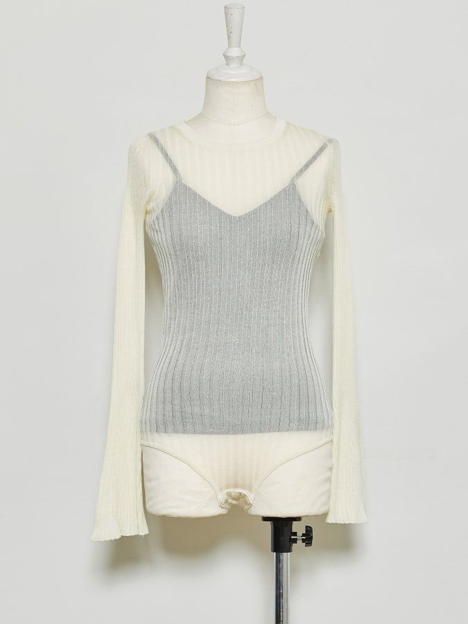 Shear Rib Knit Leotard