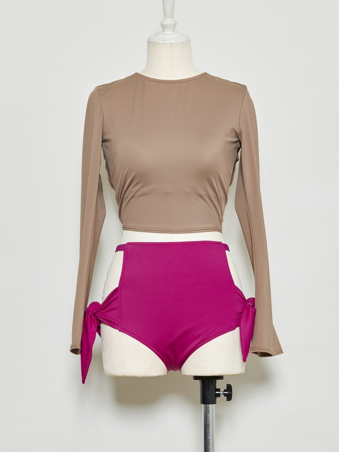 【Pre order】Bi-color Swim Suit