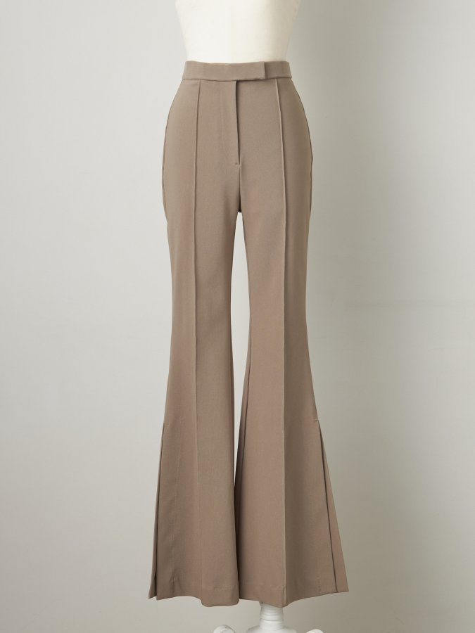 Stretch Side Slit Pants