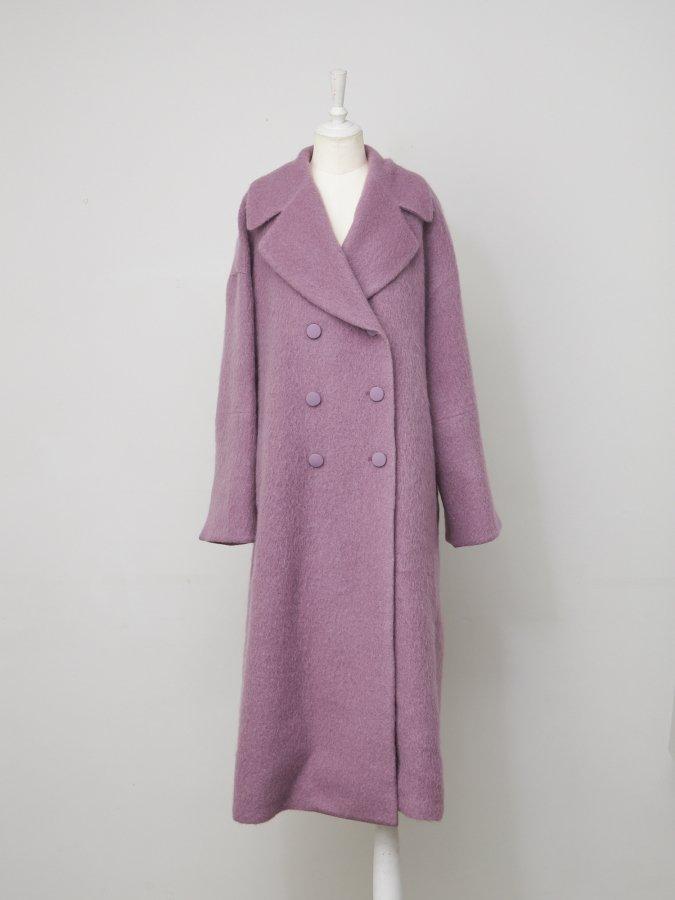 【Pre order】Mohair Shaggy Coat