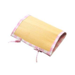 健康畳 安眠マットミニサイズ(枕カバー・ベビーシート用)ピンク