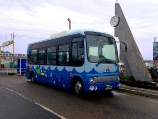 RCA-D39 愛知県南知多町海っ子バス(ポンチョ)ラッピングデカール