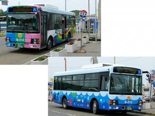 RCA-IN60 愛知県南知多町海っ子バス(エルガミオ)ラッピングインレタ