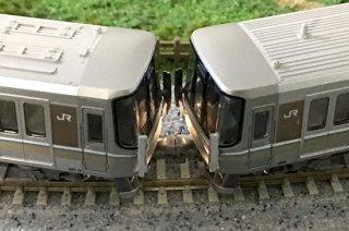RCA-3DP24 223系前面転落防止幌パーツ(連結用)