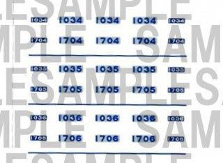 【特別先行販売品】RCA-IN105 南海1000系 車番【1】(鉄コレ・幅広車2連用)