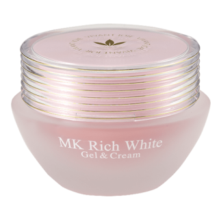 MKリッチホワイト+UVロイヤルリップ[JE725]限定品+薬用美白オウゴンジェル(0.5g)×10包