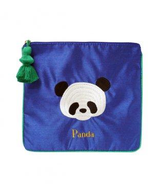 刺繍ポーチ:パンダ