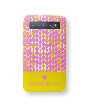 モバイルバッテリー:ピンク