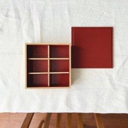 白木塗タモ重箱用仕切り|松屋漆器店