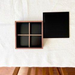 白木塗ウォルナット重箱用仕切り|松屋漆器店