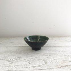 織部面取茶碗小|黒木泰等