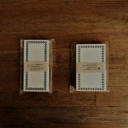 凸版印刷メモカード50pcs|倉敷意匠
