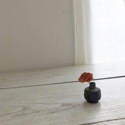 黒釉花器・ミニ|高田志保