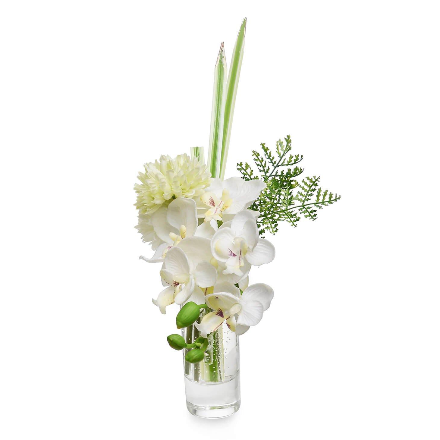 オーキッド&マム ウォーター供花 グリーン