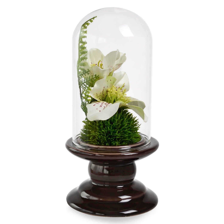 クリスマスローズ ガラスドームS 供花