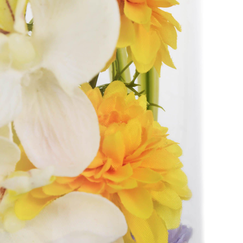 胡蝶蘭 ガラスドームL 供花