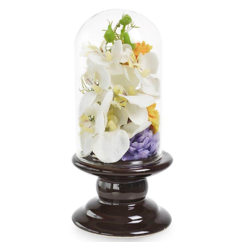 胡蝶蘭 ガラスドームS 供花