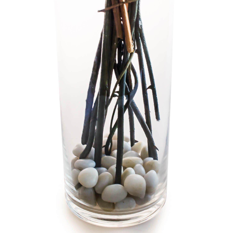 マグノリアのガラスベースアレンジメント