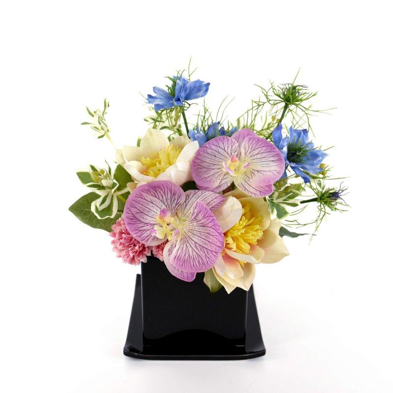 仏壇 供花 トライアングル ミックスカラー