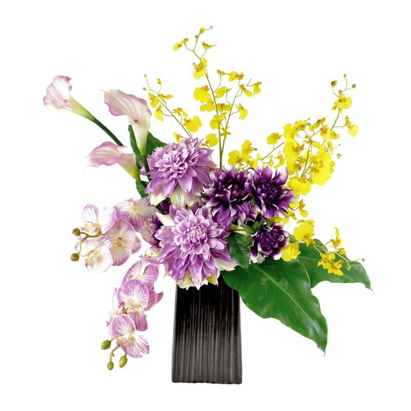 ダリア マム ミニオーキッド 供花