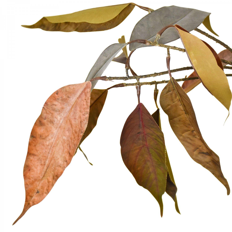 白樺 ユーカリスプレー ブラックトールベースアレンジ アーティフィシャルフラワー アートフラワー