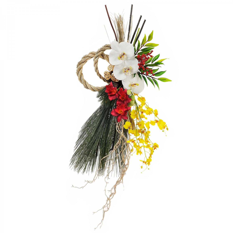 胡蝶蘭とオンシジューム迎春のお飾り(L)
