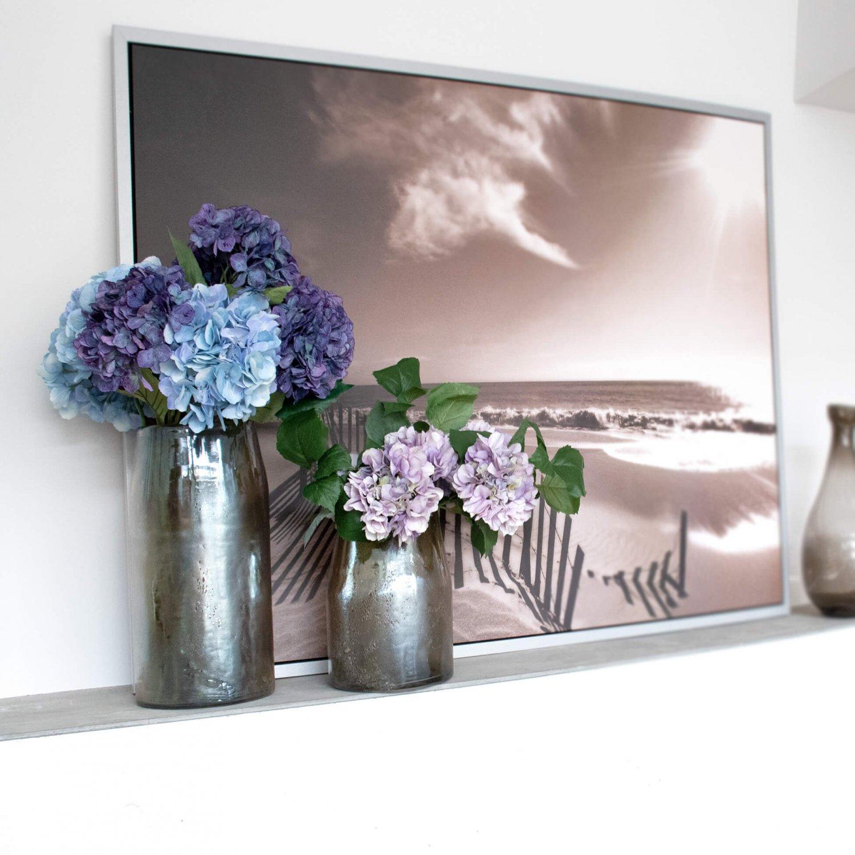 あじさい ブルーパープル 単品花材 H65 アーティフィシャルフラワー アートフラワー