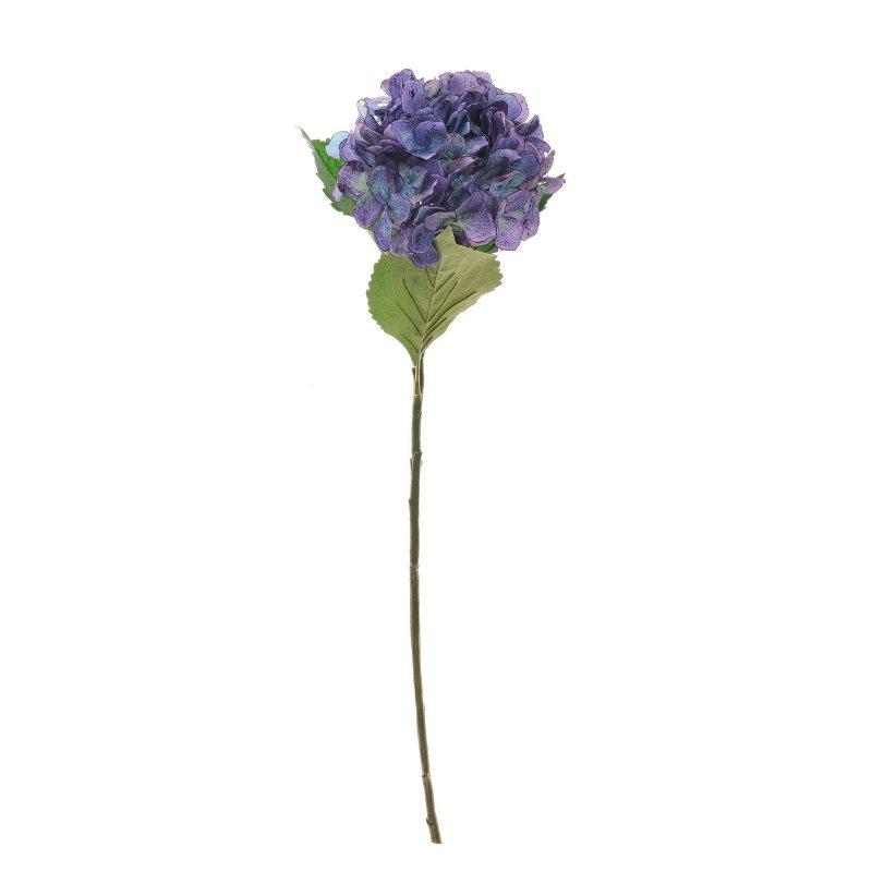 あじさい ブルーパープル 単品花材 H65