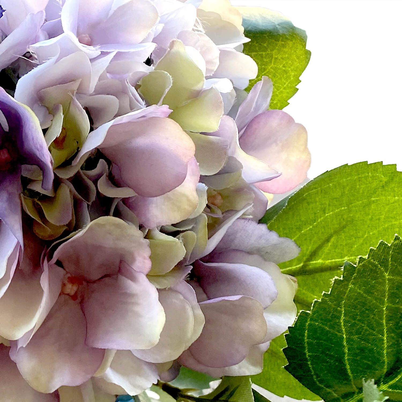 紫陽花 クレマチス ストレートラインベースM アレンジ アーティフィシャルフラワー アートフラワー
