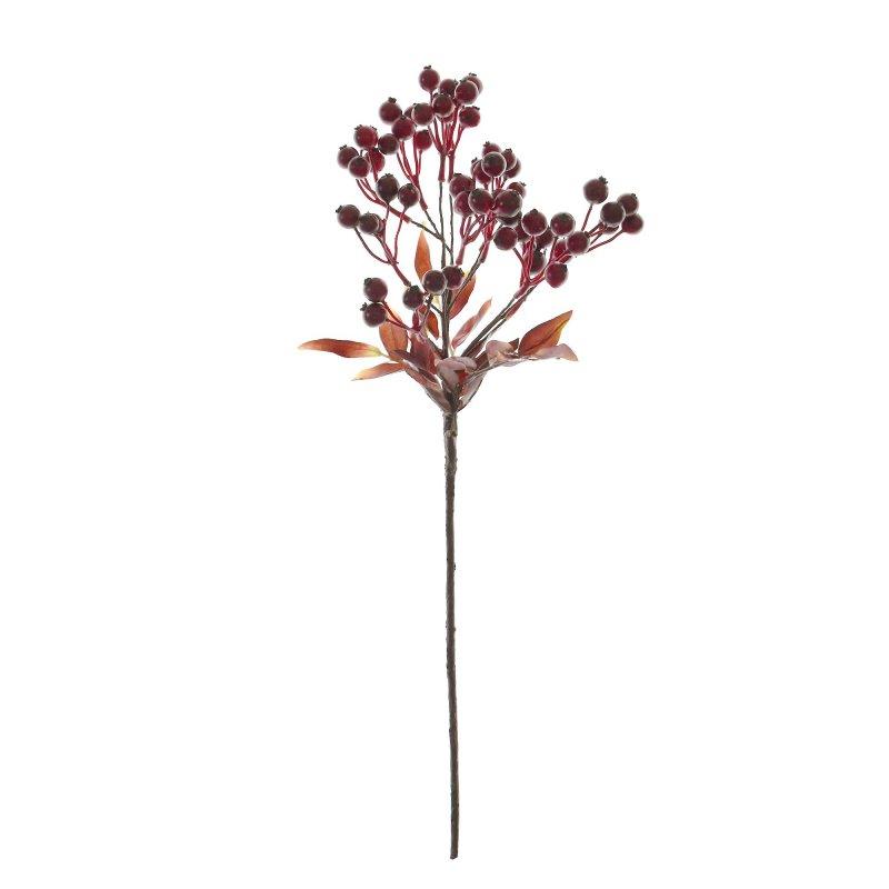 ベリー レッド 単品花材 アーティフィシャルフラワー アートフラワー