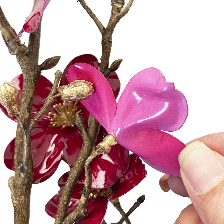 漆ハナミズキ レッド 単品花材 アーティフィシャルフラワー アートフラワー