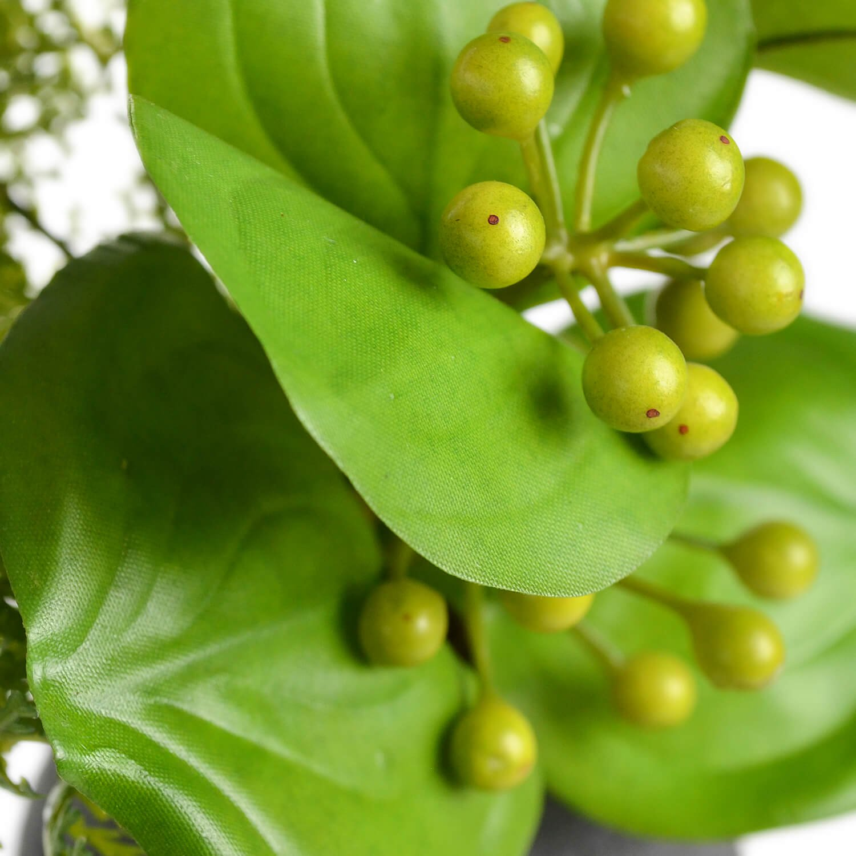 トクサ 寄せ植え 檜炭ボール(黒皿) CUPBON 盆栽 フェイクグリーン