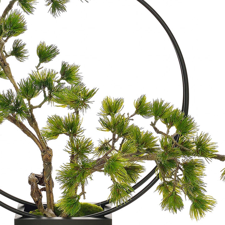 松・吹き流しL リングベース CUPBON 盆栽 フェイクグリーン