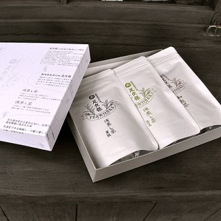 ティーワークスギフトセット(薫風・蒸王・和紅茶)