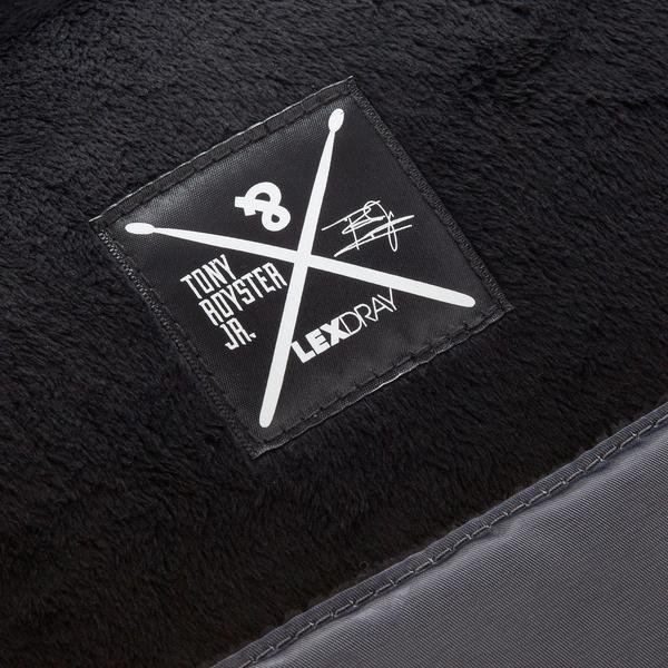 Lexdray x Tony Royster, Jr. Drumstick Case - Black/BW Twill