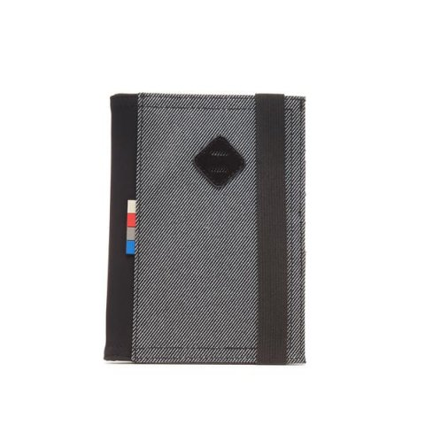 Paris Passport Case - BW Twill