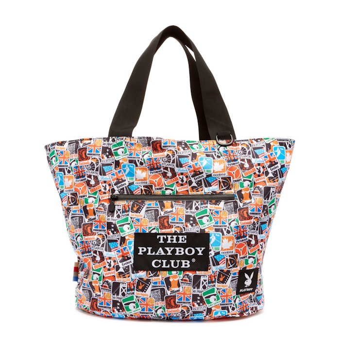 Playboy Reversible Tote - Black/PB
