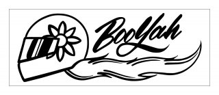 Booyah ステッカー ver.3