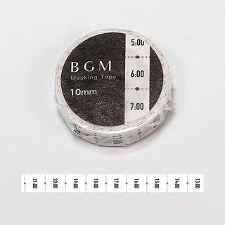 """BGM マスキングテープ 「SP""""ツカイ"""" 日々・時刻」"""