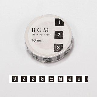 """BGM マスキングテープ 「SP""""ツカイ"""" 日々・日付4」"""