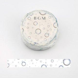 夏限定・BGM マスキングテープ「水滴」