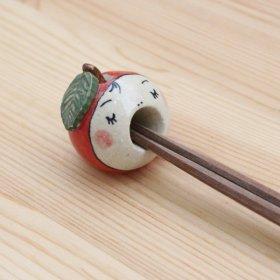 箸置き りんご(赤)