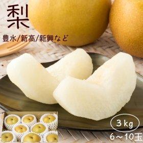 梨 5〜8玉入り(約3kg)(発送期間:8月下旬〜9月)